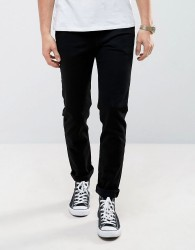 Weekday Jeans Friday Skinny Fit Black - Black