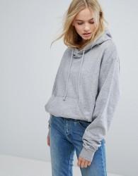 Weekday Oversize Hoodie - Grey