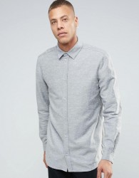 Weekday Placket Shirt - Grey