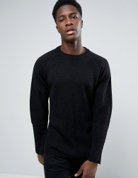 Weekday Pollus Loose Knit - Black