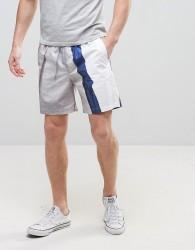 Weekday Press Cassius Printed Shorts - White