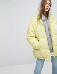 Weekday Press Collection Padded Jacket - Yellow