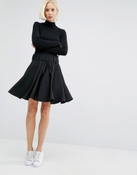 Weekday Skater Skirt - Black