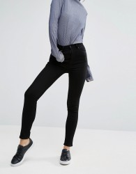 Weekday Thursday High Waist Skinny Jeans - Black