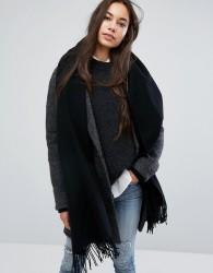 Weekday Wool Scarf - Black