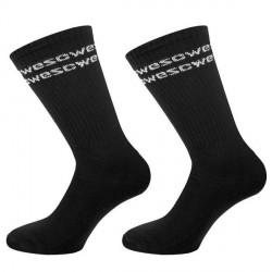 WESC 2-pak Rays WeSC Tube Socks - Black * Kampagne *