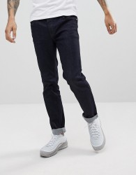 WeSC Eddy Slim Fit Jeans in Rinse Denim - Blue