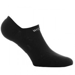 WESC No Show Socks - Black - Str 42/45