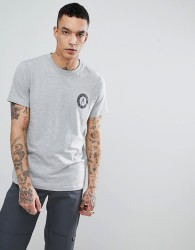 WeSC Varsity Chest T-Shirt - Grey