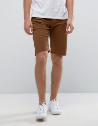 Wetts Chinos Shorts - Brown