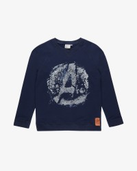 Wheat 'Avengers' sweatshirt