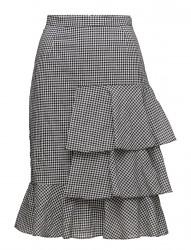White Ruffles Skirt