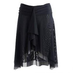 Wiki Basic Beach Skirt - Black - Small
