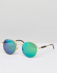 Wildfox Dakota Deluxe Mirror Lens Sunglasses - Gold