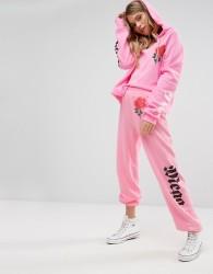 Wildfox Mega Chic Rose Jogger - Pink