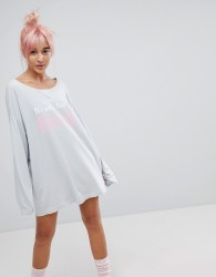 Wildfox Ready For Bed Nightshirt - Blue