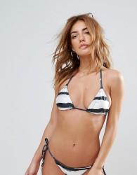 Wildfox Stripe Reversible String Bikini Top - Multi