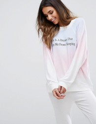 Wildfox Tye Dye Logo Sweatshirt - Multi