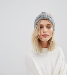 Willow and Paige Knitted Headband - Grey
