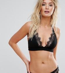 Wolf & Whistle Lace Cami Bikini Top B-F Cup - Black