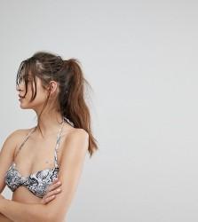 Wolf & Whistle Snakeskin Bikini Top - Multi
