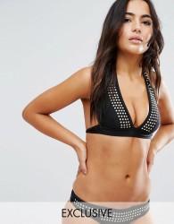 Wolf & Whistle Studded Bikini Top A-F Cup - Multi