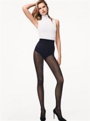 Wolford - Rhomb Tights - Sort