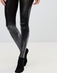 Wolford Wilma Metallic Shimmer Tights - Silver