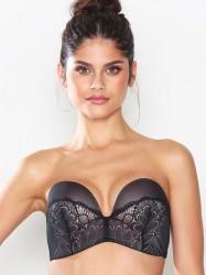 Wonderbra Glamour Perfect Strapless Bra Bandeau & soft-bra Sort