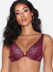 Wonderbra Glamour Triangle Bra Push-ups & balconette-BH'er Cranberry