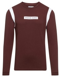 Woodbird Harbour langærmet T-shirt