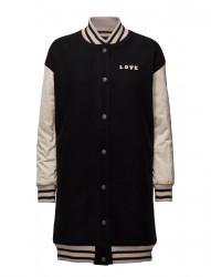 Wool Bomber Longer Length Jacket