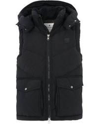 Woolrich Quilted Arctic Hooded Vest Black men M