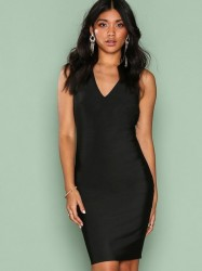 WOW Couture Strap Detail Back Bodycon Dress Kropsnære kjoler Black