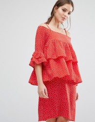 Y.A.S Abby Dress - Red