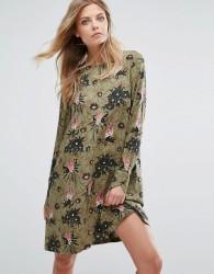 Y.A.S Blooming Floral Print Long Sleeve Dress - Multi