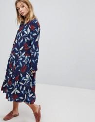 Y.A.S Bold Floral Midi Dress - Multi