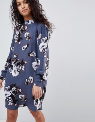 Y.A.S Floral Printed Shift Dress - Multi