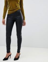 Y.A.S leather leggings - Black