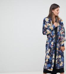 Y.A.S Tall Bloom Printed Kimono - Multi