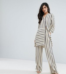 Y.A.S Tall Stripe Wide Leg Pant Co-Ord - Multi