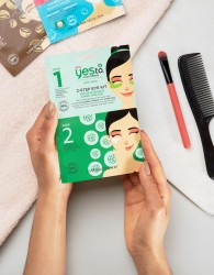 Yes To Cucumbers 2-Step Eye Mask Kit - Clear