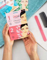 Yes To Grapefruit 2-Step Face Mask Kit - Clear