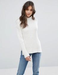 YMC Rib Knit Jumper - White