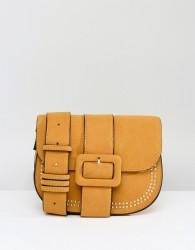 Yoki Buckle Front Saddle Bag - Yellow