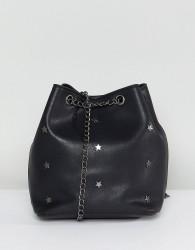 Yoki Fashion Bucket Bag - Black
