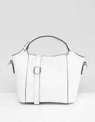 Yoki Fashion Large Tote Bag in White - White