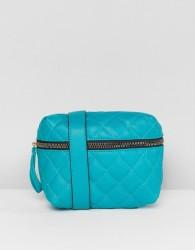 Yoki Fashion Quilted Bum Bag in Emerald Green - Green