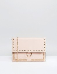 Yoki Studded Clutch Bag - Pink