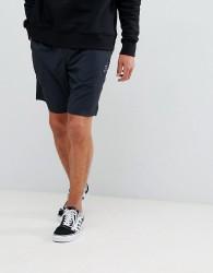 YOURTURN Active Shorts In Black - Black